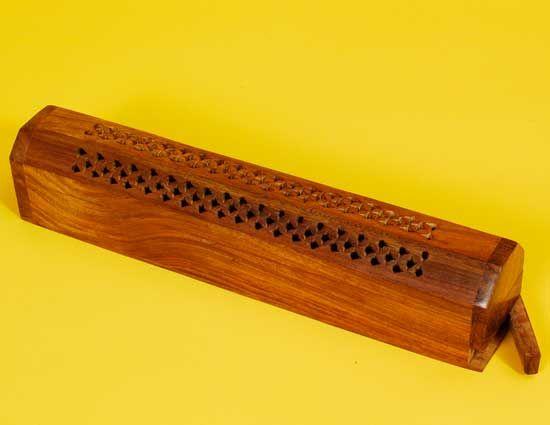 Wooden Incense Burner Box 12