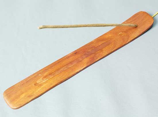 Wooden Incense Burner Plain 10