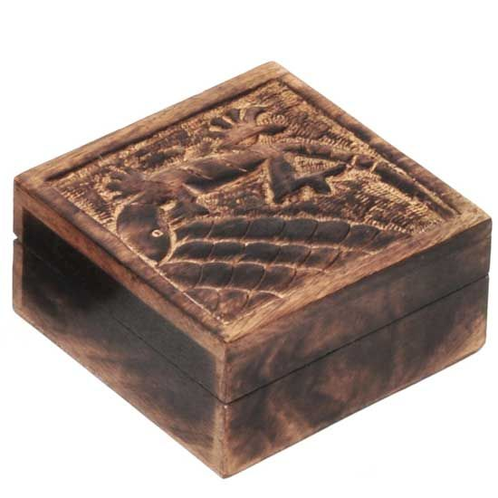 R Expo Usa Song Of India Mango Wood Carved Lizard Box Importers