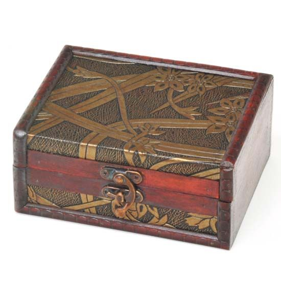 R Expo Usa Song Of India Wood Leather Box Importers Of