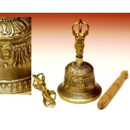 R Expo Usa Song Of India Tibetan Bell With Dorje