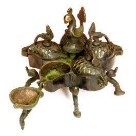 R Expo Usa Song Of India Brass Antique Ritual Box