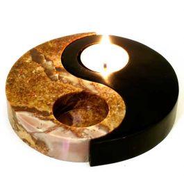 R Expo Usa Song Of India Stone Yin Yang Candle Burner