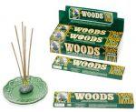 Woods 14G Incense Sticks 12 Pack