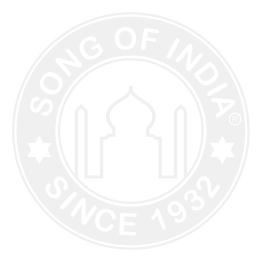 Swagat Incense Display - 72 Packs of 25g