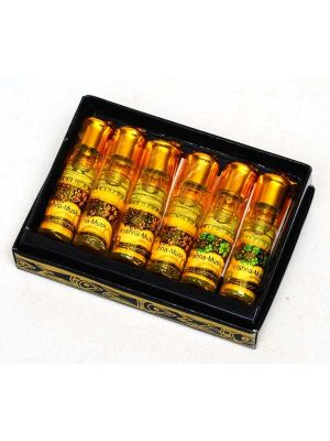 Song of India Natural Perfume Oil 2.5cc Set/6 (35 scents)