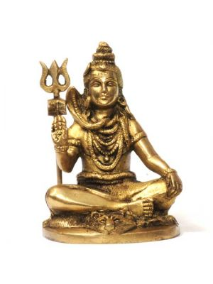 Brass Sitting Shiva 4