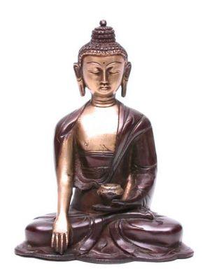 Brass Buddha 6