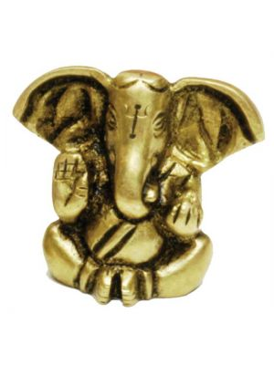 Brass Ganesha Big Ears 1.5