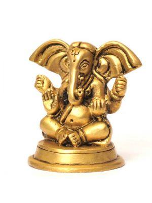 Brass Ganesha Big Ears 2.25