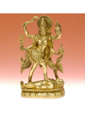 Brass Figurine Kali 10
