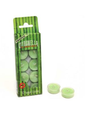 Citronella Anti Mosquito Tealight Candles Box/10