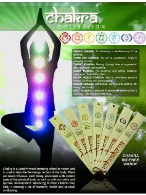 Chakra Incense 10 g. (7 scents)