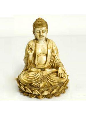 Polyresin Buddha Ivory 8.5