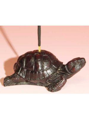Incense Burner Stone Resin Turtle 2