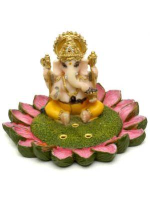 Incense  Burner Polyresin Ganesha