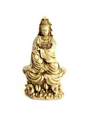 White Figure Quan Yin 7.5