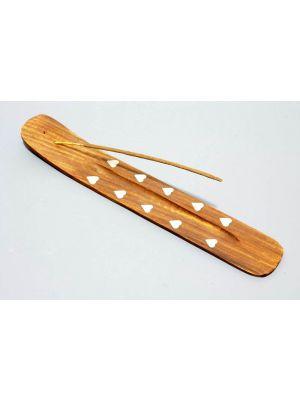 Wooden Incense Burner.