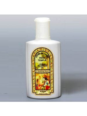 India Temple Herbal Massage Oil