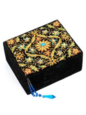 Embroidered Velvet Box 8