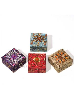 Embellished Ring Boxes Set/4 3