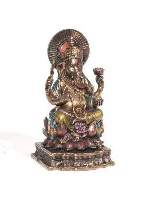 Cold Cast Bronze Ganesha 6