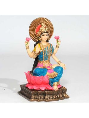 Hand Painted Laxmi Figurine 6