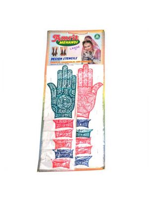 Stencils Sheet/12 Large Hand