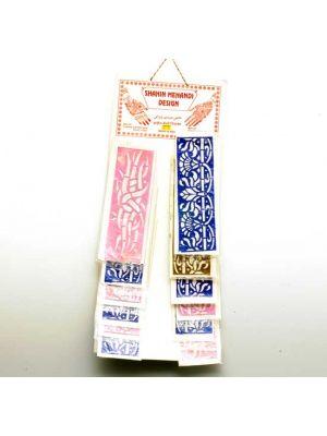 Stencils   Sheet/12 Strip Large