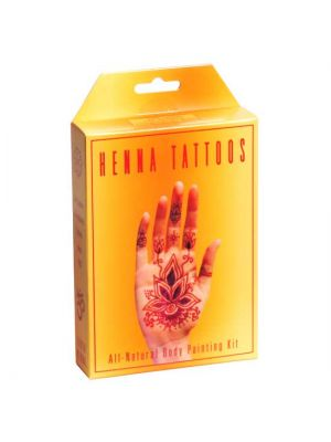Earth Henna Temporary Tattoo Kit
