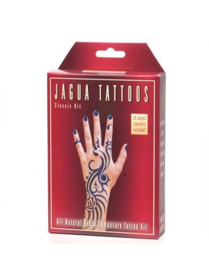 Earth Jagua Black Temporary Tattoo Kit