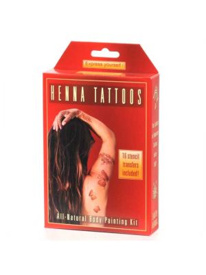 Earth Henna Temporary Tattoo Mini Kit