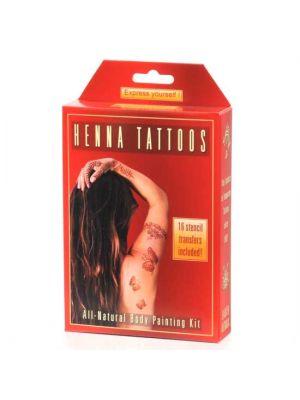 Earth Henna Temporary Tattoo Mini Kit