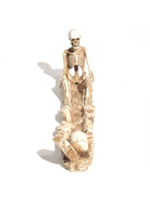 Skeleton & Tombstone Incense burner