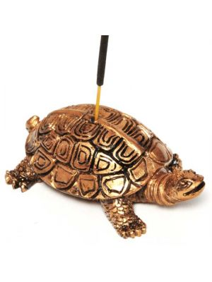Resin Turtle Incense Burner