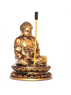 Resin Buddha Incense Burner