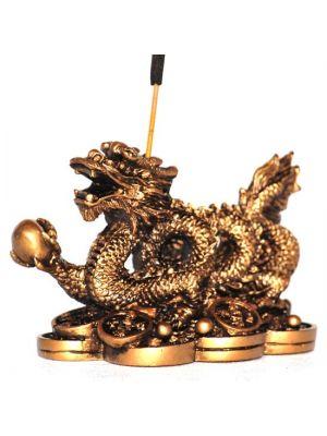 Resin Lucky Dragon Incense Burner