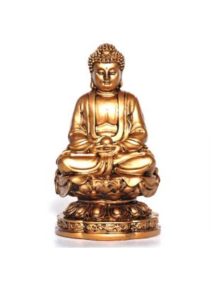 Resin Buddha Incense Burner