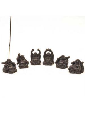 Happy Buddha Incense Burners 2