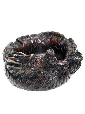 Resin Dragon Ash Tray and Incense Burner