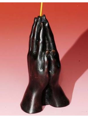 Incense Burner Resin Praying Hands 4.5