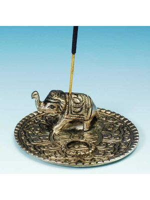 Light Metal Incense Burner Plate 3