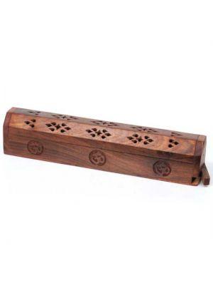 Mango Wood Incense Burner Box