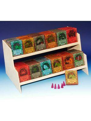 Zodiac Incense Cones Display - 72 packs of 16 cones