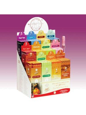 Flute Brand Cardboard Incense Display - 12 Boxes of 25