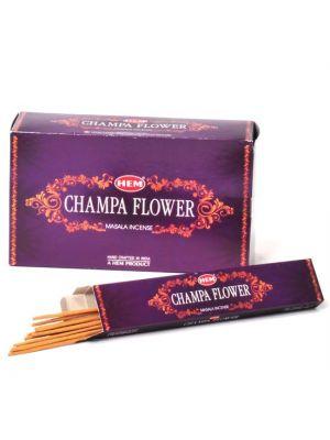 HEM Champa Flower Masala Incense 15 sticks, Box/12