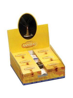 Satya Sandal Incense Cones Display