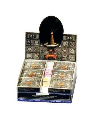 Satya Super Hit Incense Cones Display