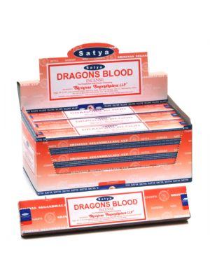 Satya Dragons Blood Incense 15g Dozen