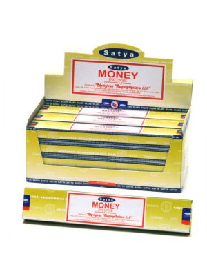 Satya Money Incense 15g Dozen